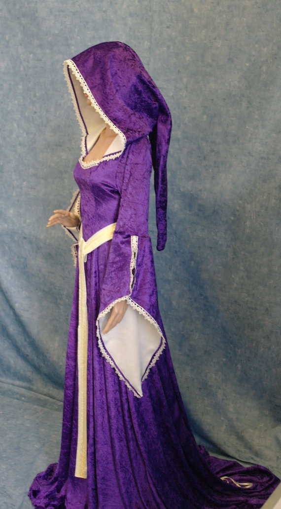 Faery Color Robe Renaissance Custom Image Medieval Made Elven mONnv8w0
