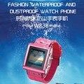 2017 de lastest unlock gsm reloj teléfono ip67 impermeable skw838 smart watch soporte tarjeta sim java bluetooth 1.5 ''pantalla táctil de la cámara