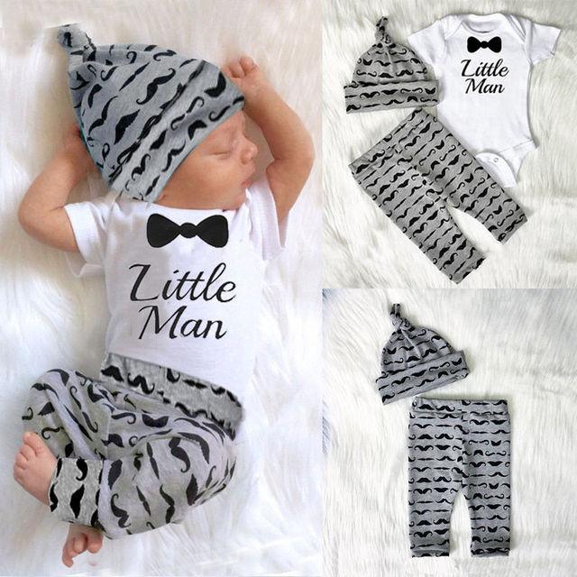 a8c7d245a 2017 Baby Clothing Sets 0 18M 3pcs Autumn Baby Boys Clothes SET ...