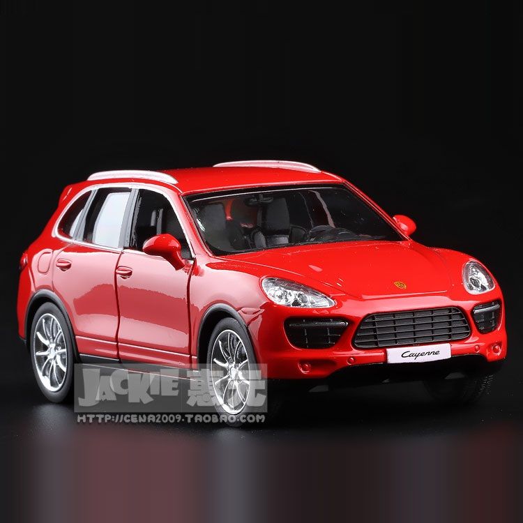 High Simulation Exquisite Diecasts&Toy Vehicles: RMZ City Car Styling Cayenne Luxury SUV 1:36 Alloy Diecast Model Pull Back Cars