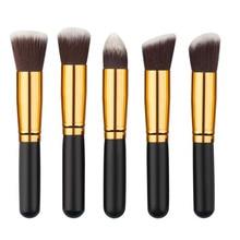 10Pcs Cosmetic Makeup Tool Brush Brushes Set Powder Eyeshadow Blush With Bag New