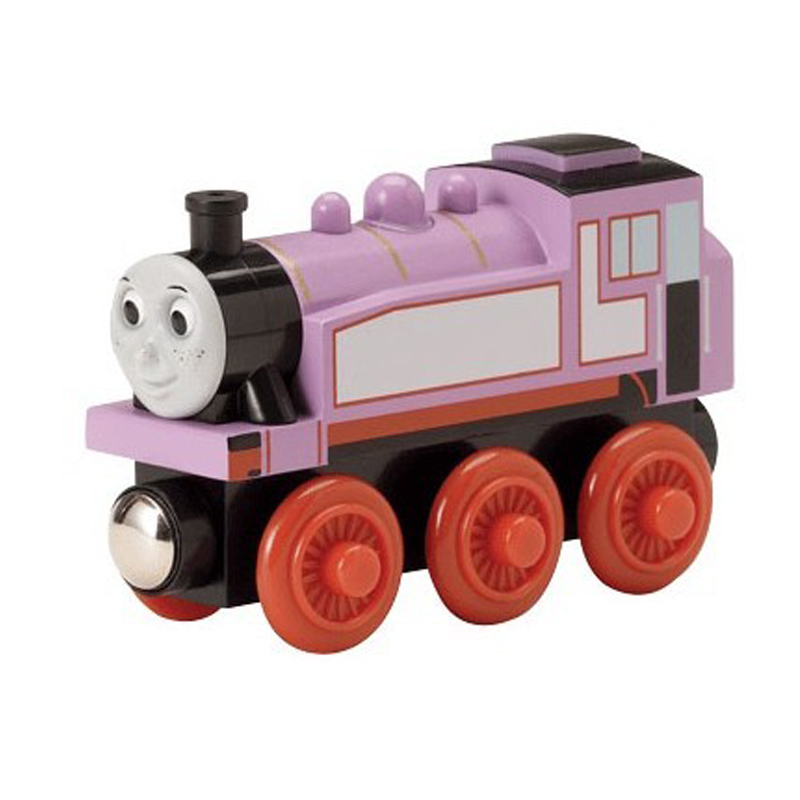 W73 free shipping RARE Original ROSIE Thomas And Friends Wooden Magnetic Railway Model Train Engine Boy toys / Kids Gift