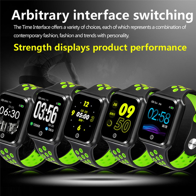 S226 Sports smart watches IP67 Waterproof Smart Bracelet 15 days long standby  Heart Rate Monitor Blood Pressure Pedometer watch 3