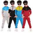 Baby Boys Clothes Set 2017 New Arrival Spring Sports Clothing Sets 4 Colors Hoodies+Pants Boys Sports Suit Children Clothes