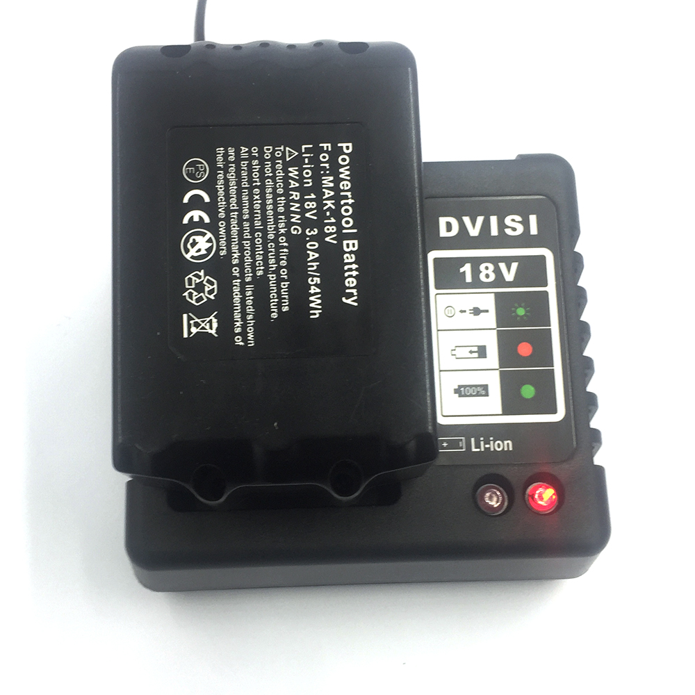Dvisi Bl1830 18v 3000mah Rechargeable Battery Power Tools