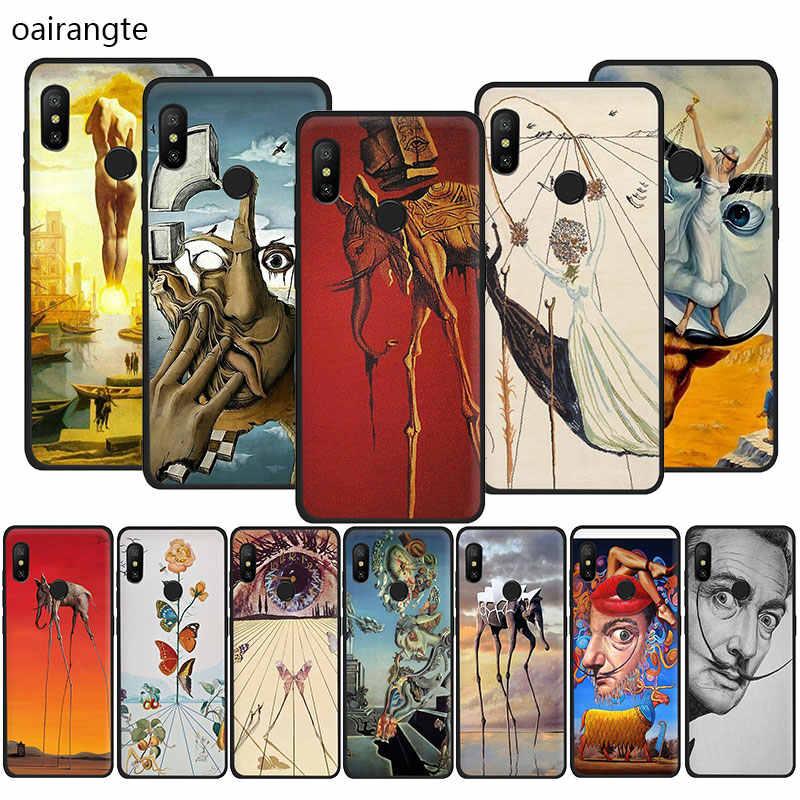 סלבדור דאלי אמנות ציור רך TPU טלפון כיסוי מקרה עבור Redmi 8A K20 4A 4X 5 6 5A 6A הערה 5 6 7 8 פרו