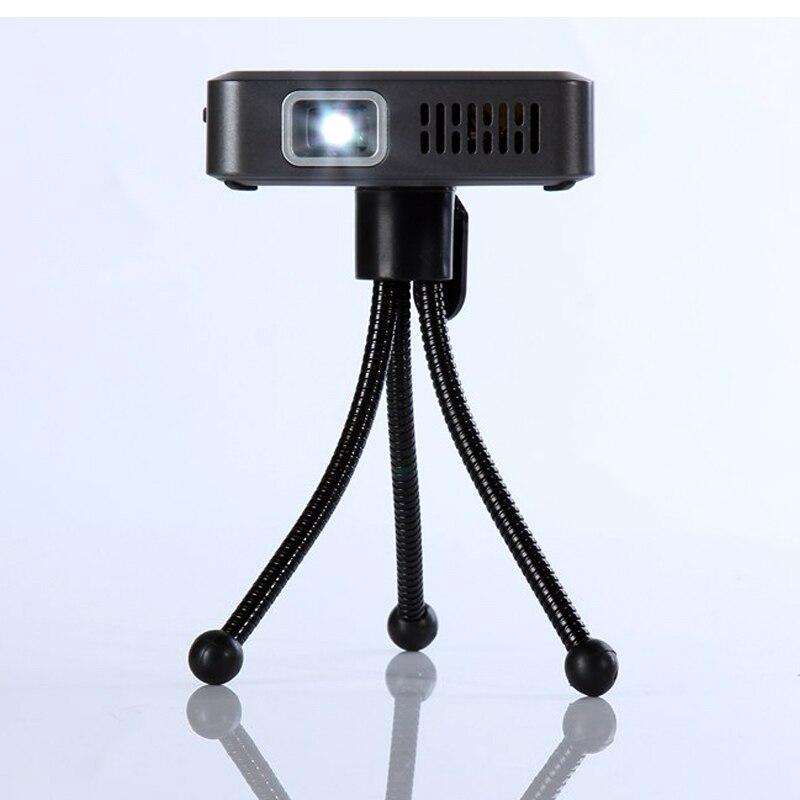 Mini Portable Projector DLP Full HD 1080p 3000lumens Home Theater projector USB HDMI VGA TF AV convenient with 3000mah battery