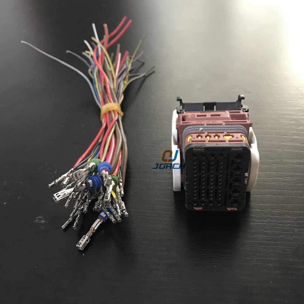 medium resolution of  ecu female 53 pin way molex automotive connector wire harness connectors sets kits