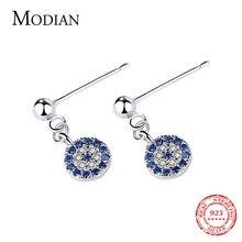 Modian Лидер продаж 100% 925 стерлингового серебра с голубыми