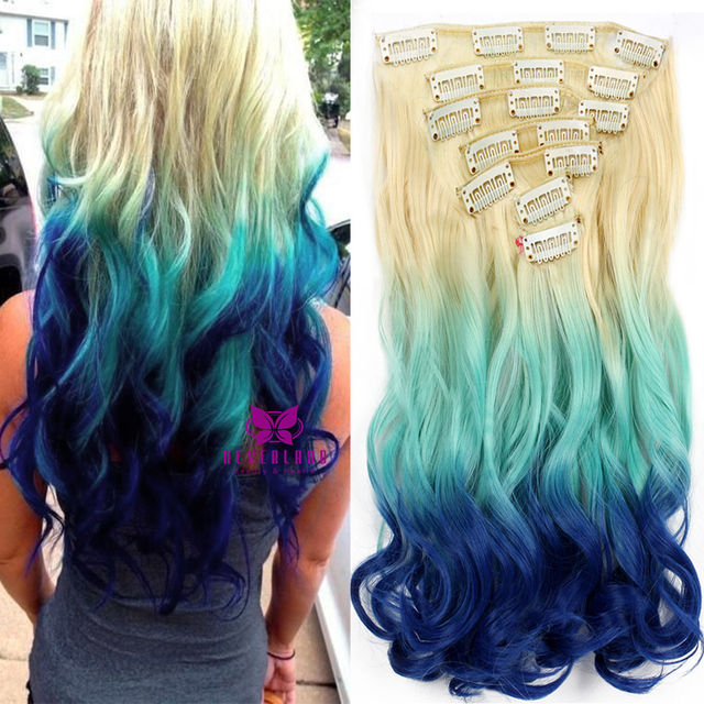 Aliexpress online shopping for electronics fashion home 2017 7pcsset 20 inch synthetic hair wavy ombre extension three colors 34 pmusecretfo Gallery