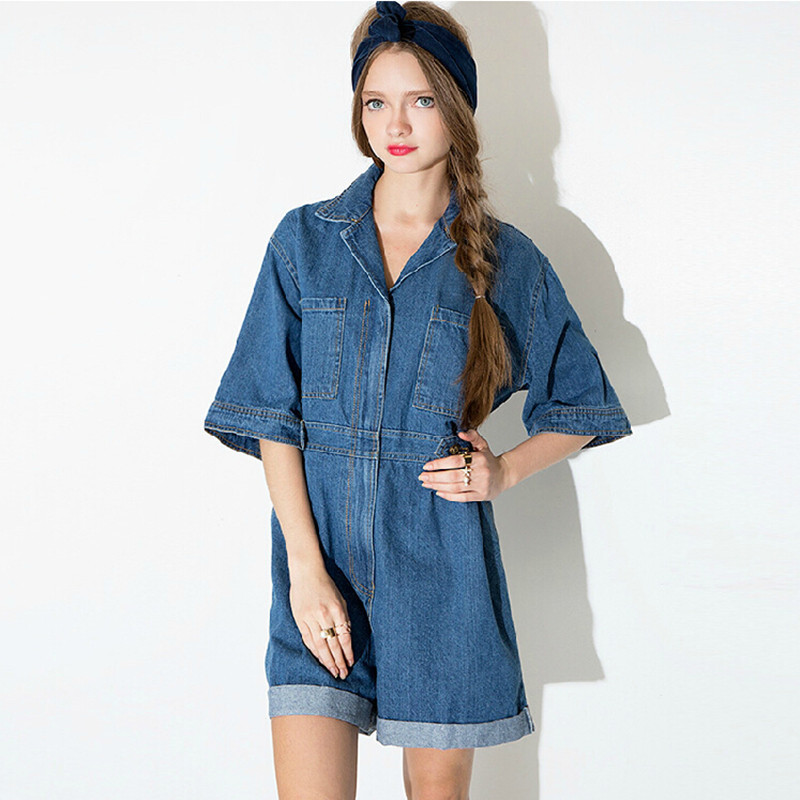 Online Get Cheap Denim Shorts Jumpsuit -Aliexpress.com | Alibaba Group