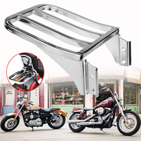 1Pcs Motorcycle Sissy Luggage Rack Stand Fits For Harley Sportster XL1200 883 72 48 Nightster Dyna