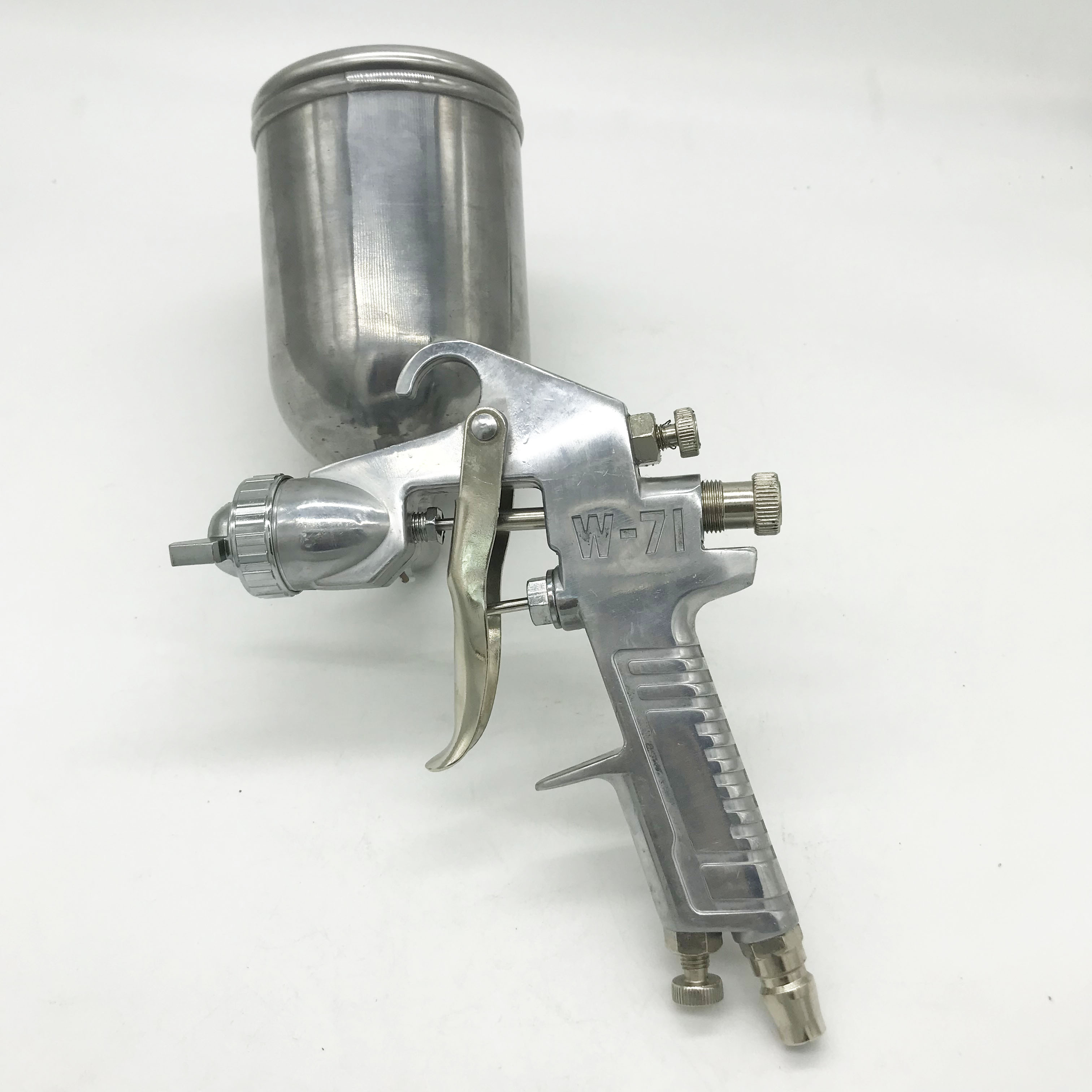 DEWABISS W71G Spray Paint Gun 1.5mm Airbrush Airless Spray Gun For Painting Cars Pneumatic Tool Air Brush