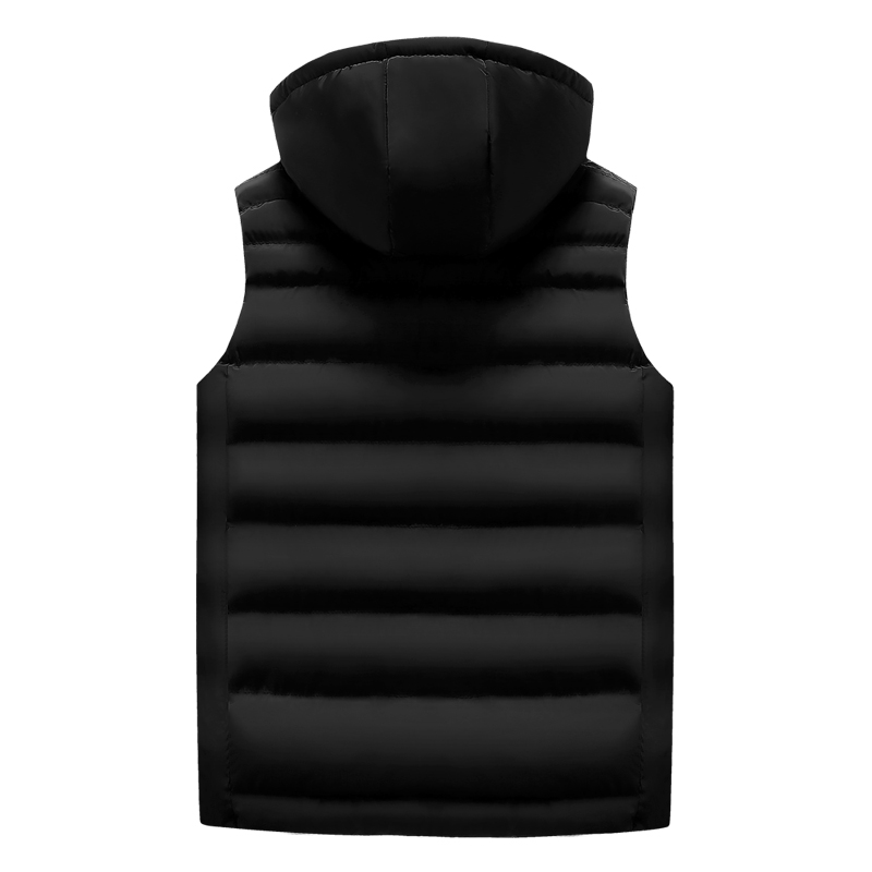 men\`s casual clothing fashion down jackets men leisure dress vests winter warm elegant korean streetwear trend coat vest for men (6)