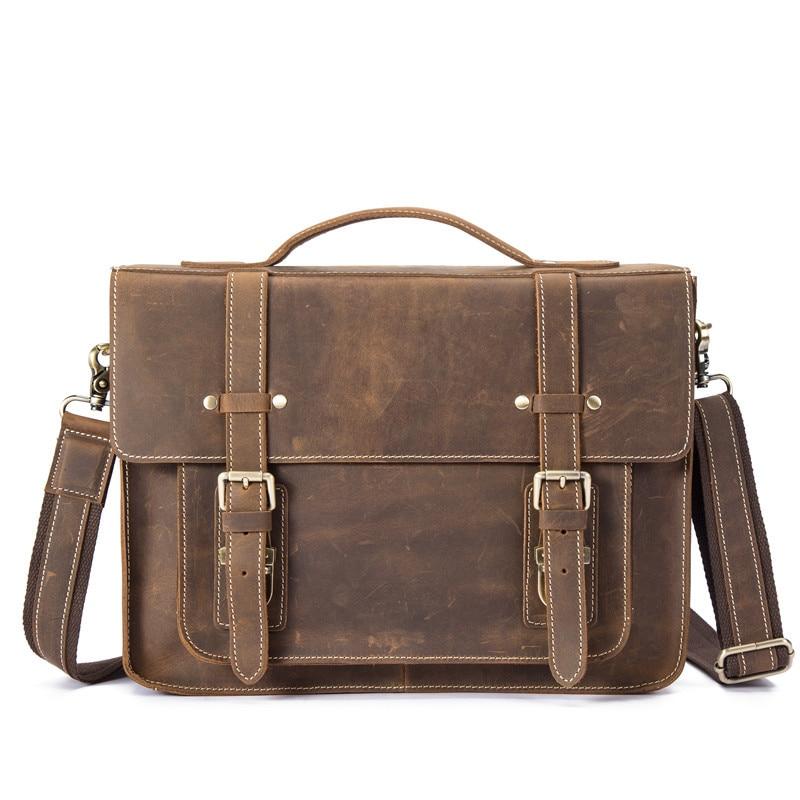 남자 핸드백 정품 가죽 서류 가방 어깨 crossbody 메신저 패션 가방 선물 비즈니스 노트북 남성 가방 여행 blosa-에서서류 가방부터 수화물 & 가방 의  그룹 1