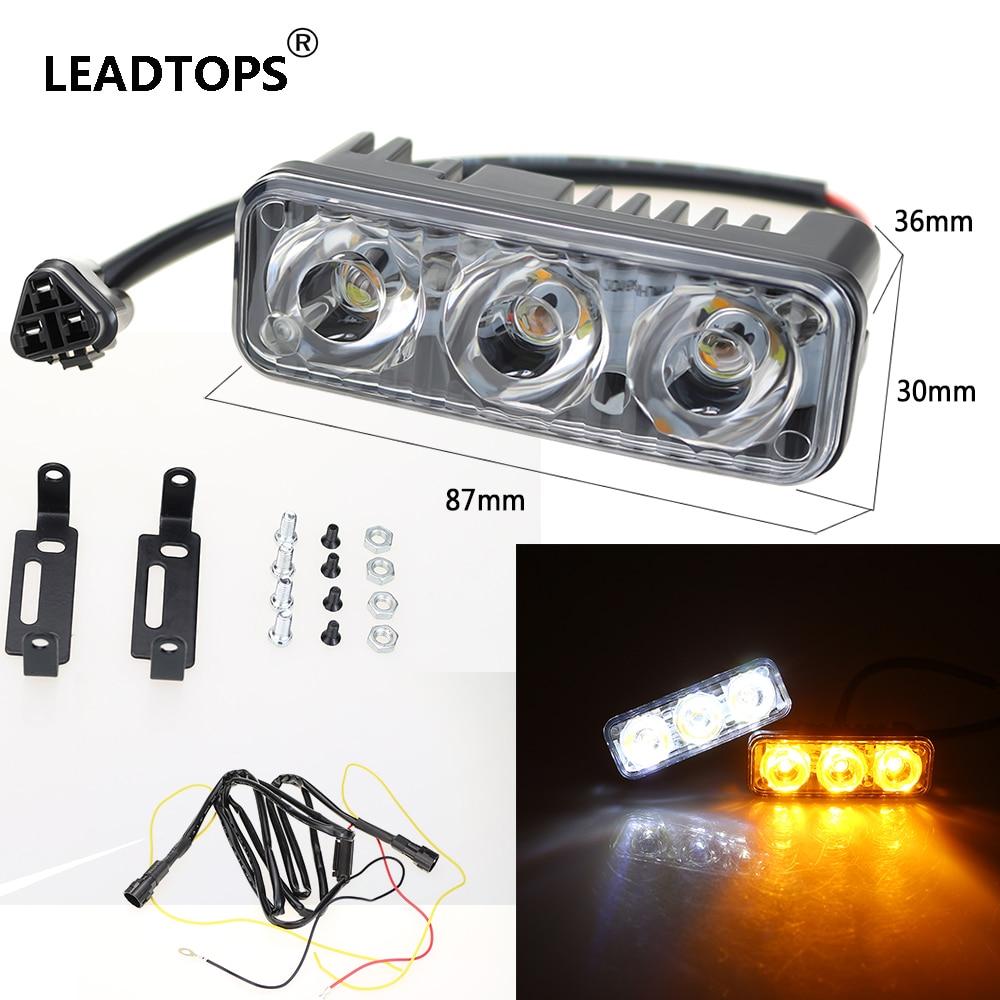 LVTUSI Avtomobil LED Dönüş Siqnal Lampası DRL DC Gündüz - Avtomobil işıqları - Fotoqrafiya 2