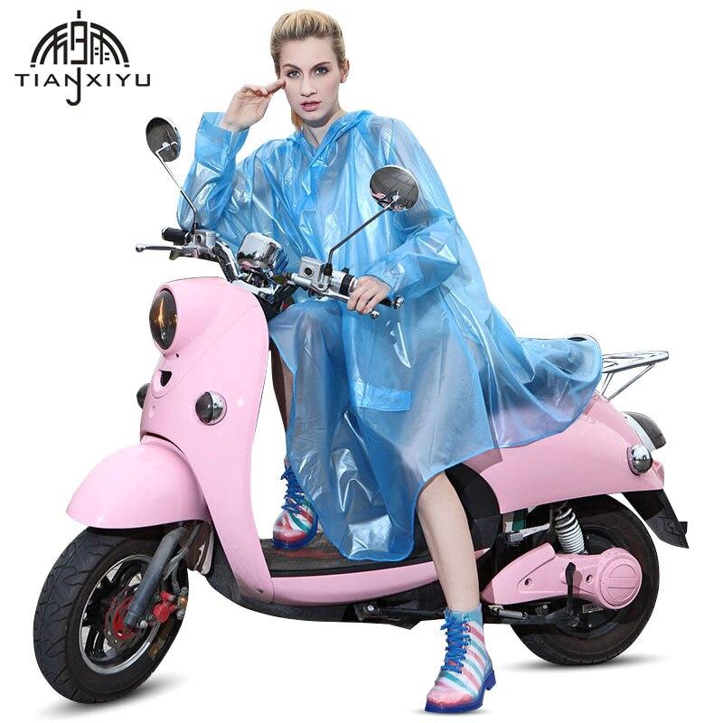 Universal Transparent Regenmantel Frauen Wasserdichte Regenmantel Motorrad Undurchlässig Damen Mäntel Männer Outdoor Regen Poncho Und Capes