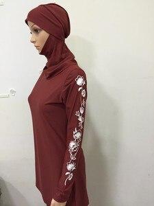 Image 5 - 2017 New muslim swimwear islamic swimsuit modest swimwear swimsuit for women