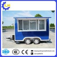 Фабрика поставщика мобильного фаст корзину производство корзину эскимо Мороженое полу автомобильный грузовик с прицепом