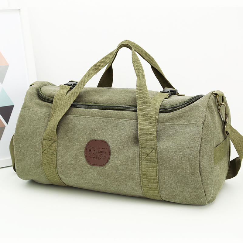 Large Capacity Canvas Travel Bags Travel Duffle Bag Big Tote 5 Colors Male Crossbody bag Casual luggage Casual Men Hand Luggage