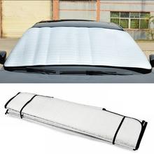 Стильный прочный солнцезащитный козырек для лобового стекла автомобиля, Складывающийся солнцезащитный чехол для автомобиля с защитой от ультрафиолета