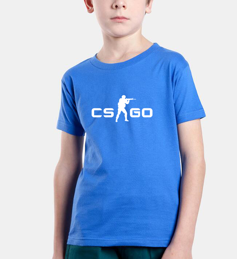 hot sale 2018 new fashion boys t shirt cs go printing brand clothing kids tops baby girl clothes summer t shirts children shirts new 2018 summer brand clothing about baby clothes t shirts fashion sportswear for girls boys t shirt kids clothes