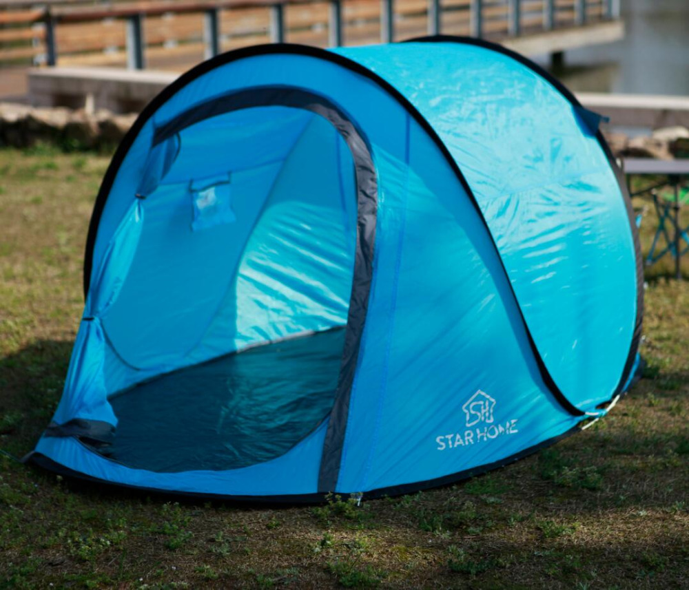 Starhome Pop Up Camping Tent Waterproof Instant Quick Open