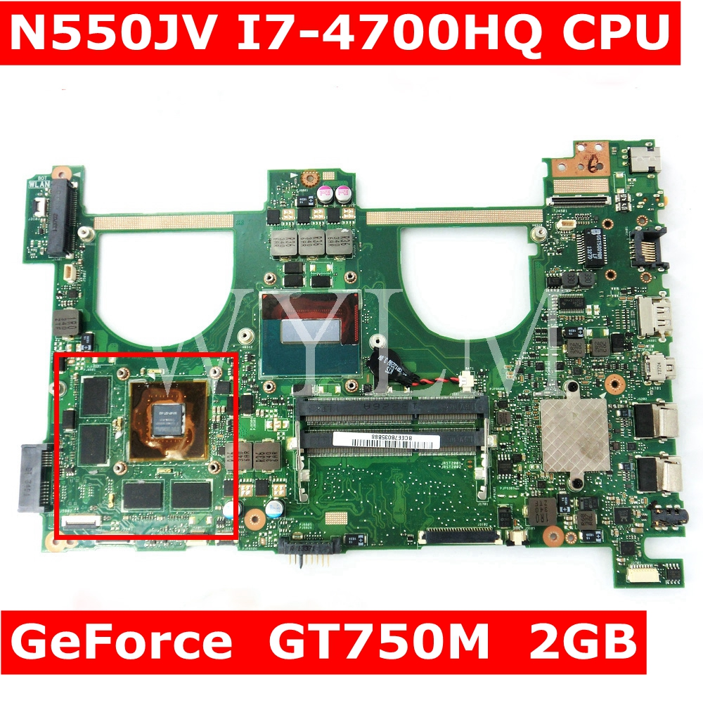 N550JV MAIN_BD._0M/I7-4700HQ/AS V2G GT750M mainboard For Asus Q550JV N550J N550JV N550JK laptop motherboard 90NB00K1-R00020 N550JV MAIN_BD._0M/I7-4700HQ/AS V2G GT750M mainboard For Asus Q550JV N550J N550JV N550JK laptop motherboard 90NB00K1-R00020