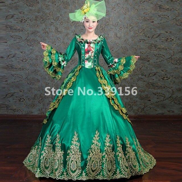 95674f3c US $109.25 25% OFF|Rococo Suknia Elegancka Sukienka Masquerade Costume  Maria Antonina Okres Queen Elizabeth Suknie w Rococo Suknia Elegancka  Sukienka ...