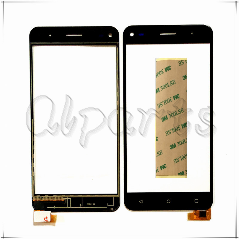 With Tape Mobile Phone Touchscreen Front Glass For Fly Cirrus 4 FS 507 FS507 Touch Screen Panel Sensor Digitizer Replacement