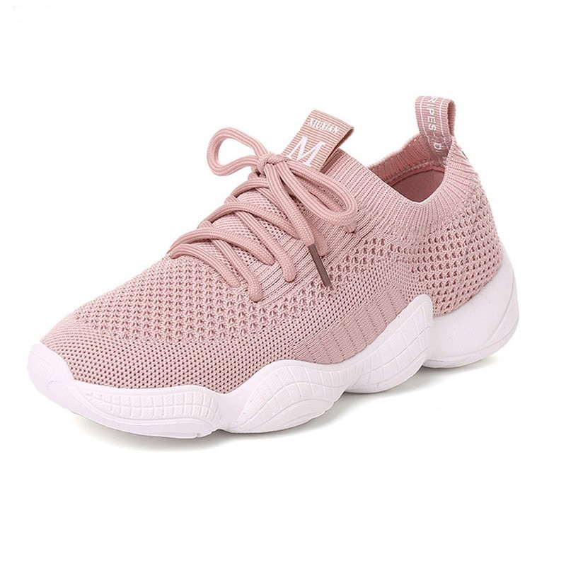 Sports & Entertainment Cooperative Veamors Women Flats Running Shoes 2018 New Outdoor Comfortable Sneakers Breathable Mesh Soft Jogging Athletic Footwear For Girls Lustrous Surface Running Shoes