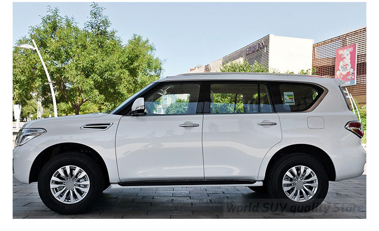 hot roof rack roof rail luggage roof bar for Nissan Patrol Y62 NISMO 2013-2018, low profit for promotion,5 years SUV seller