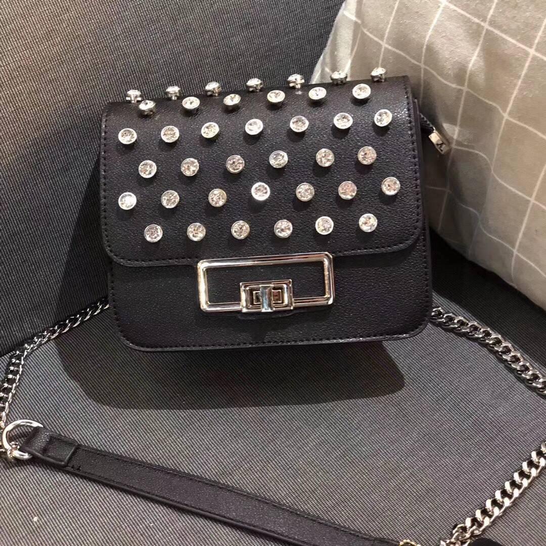 lkprbd new spring and summer 2018 fashion handbag design crystal diamond decoration satchel Mini chain single shoulder bag bag стоимость