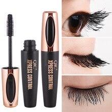 4d silk Fiber eyelash Lash magic Mascara Waterproof 3d For Eyelash Extension Black Thick Lengthening Eye Lashes Cosmetic