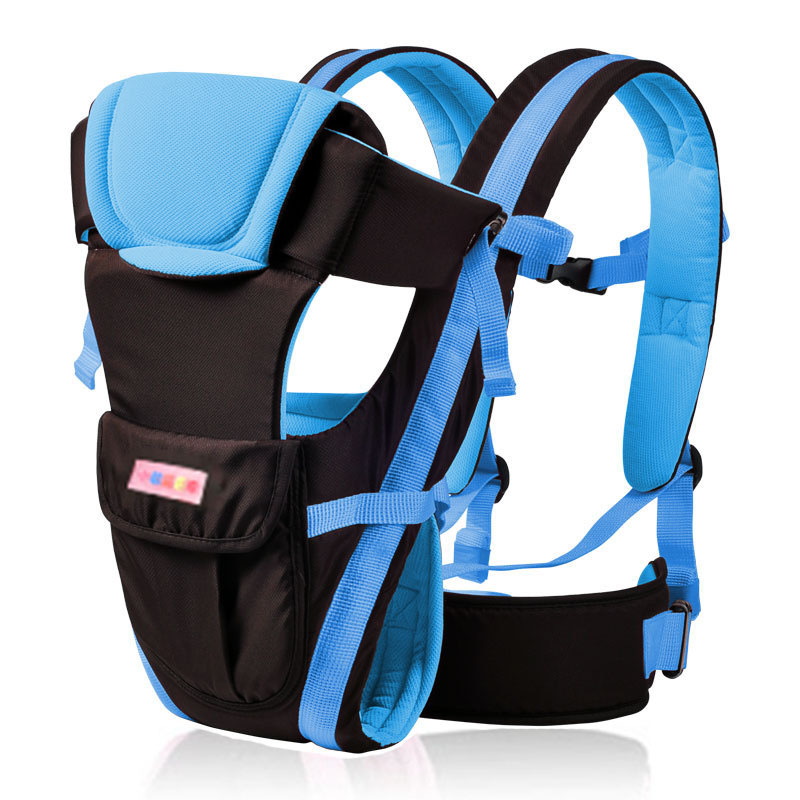 2017 для детей, на возраст от 0 до 30 месяцев дышащий фронтальная кенгуру 4 в 1 Удобная Слинг Рюкзак мешок Обёрточная бумага кенгуру B0653
