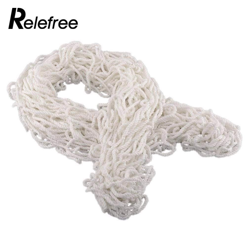 Relefree 1.2 m x 1.5 m Bianco Reti Per La Pratica della Formazione Partita di Calcio Goal