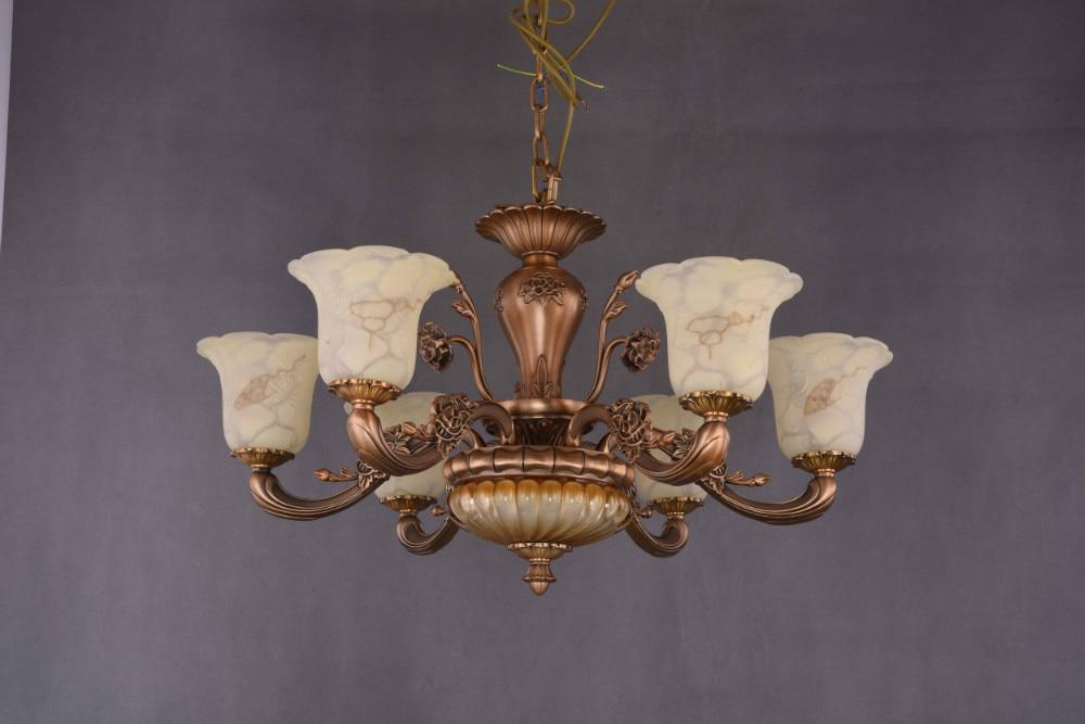 Illuminazione Soggiorno Pranzo : Hot europeo lampadario illuminazione soggiorno sala da pranzo luce