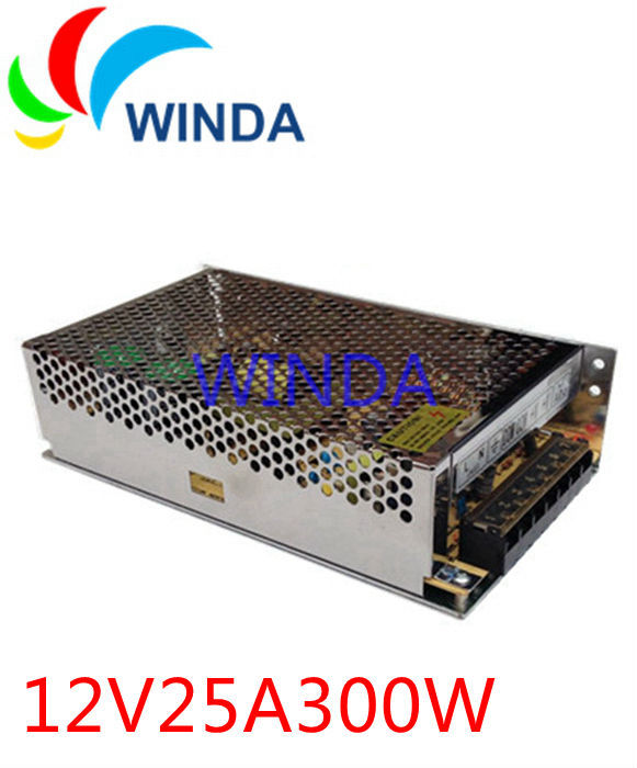цена на 300W surveillance cameras switching power supply output 12V 25A for security cctv system ac dc converter