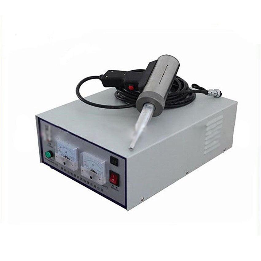 Ultrasonic Welding Machine : Khz w hand held ultrasonic plastic welding machine