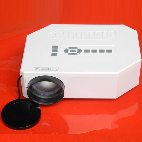 Nuevo modelo Digital Video proyector con HDMI USB SD banco de la energía equipo de carga Mini portátil LED Beamer Projektor buena calidad