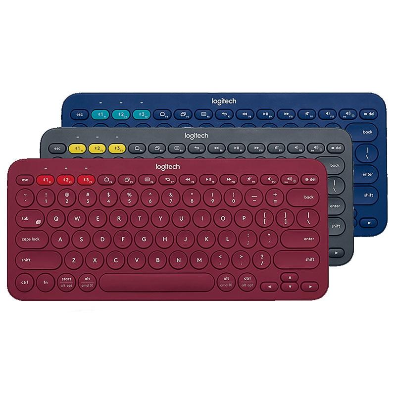 Clavier Bluetooth multi-périphériques Logitech K380