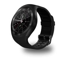 696 Y1 Смарт Просмотрам круглый Поддержка Nano SIM и карты памяти с Whatsapp и Facebook Для мужчин Для женщин Бизнес Smartwatch для телефона Android