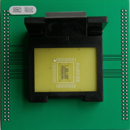Programmer special adapter VBGA162 burn bridge burning clamshell qfp144 lqfp144 tqfp144 su h8s2505 tq144 programmer adapter for lp programmer