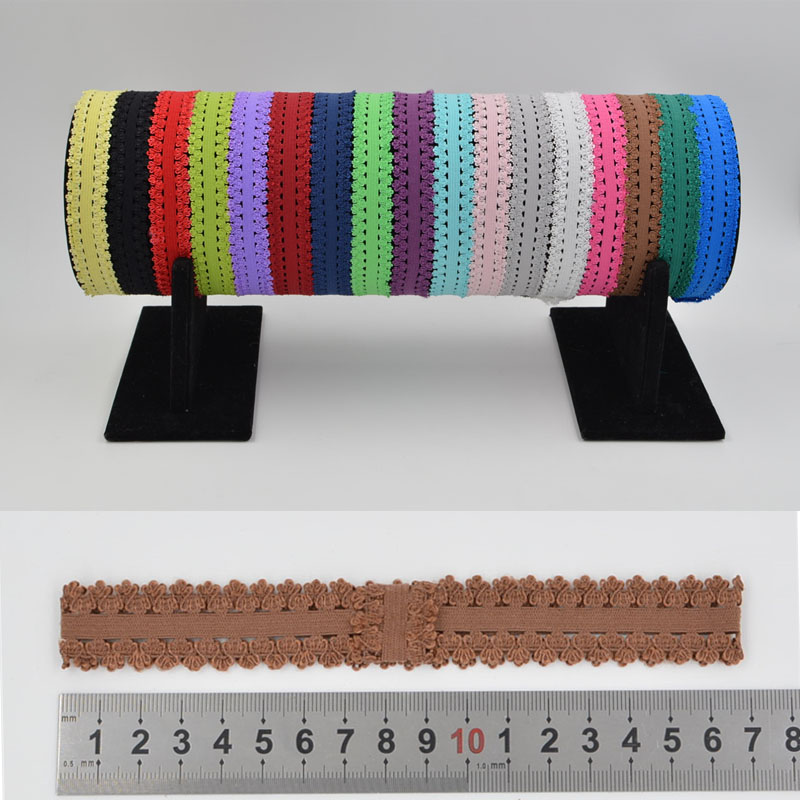 hot sale 10 pcs solid satin lace elasticity headbands Hairbands baby Children girls Headwear DIY hair accessories Headdress