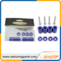 RASTP - Racing Parts Hood Spacer Kits Jdm Hood Risers Billet Aluminum Hood Risers Universal Purposal LS-HR005