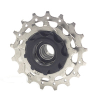 Silverock 3 Speed Cog Cassette 9T 13T 17T Cassette Fit for Fixed Bike Electric trike Sprocket Cogs CR MO 16T to 22T