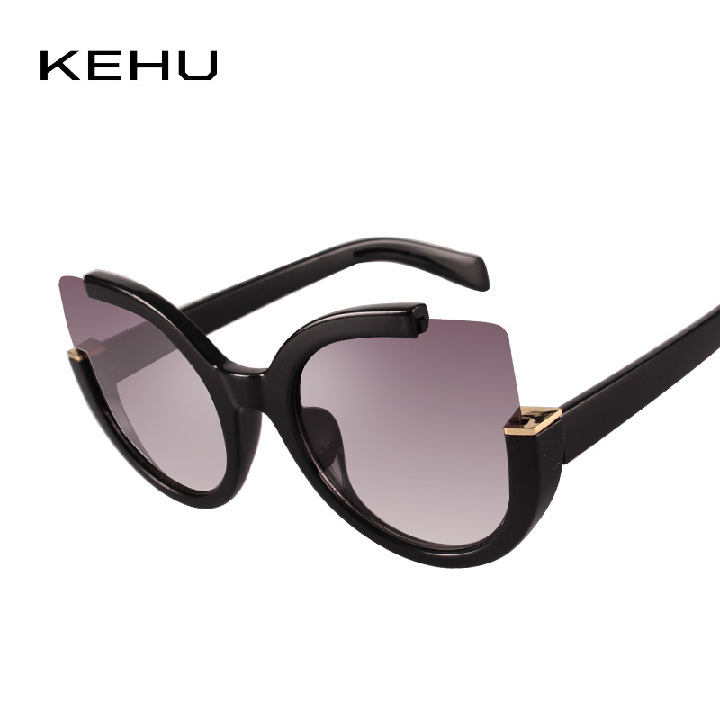 Kehu High Quality Cat Eye Fashion Sunglasses Women -3770