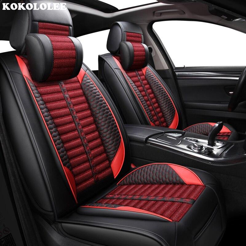 Housses de siège de voiture kokolololee pour Hyundai tous les modèles elantra terrasses accent azera lantra tucson iX25 i30 iX35 Sonata voiture-style