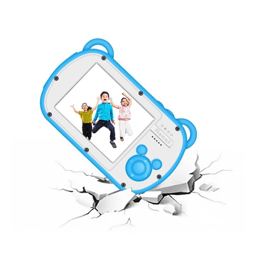 Étanche enfants appareil photo numérique plusieurs langues drôle jouets rechargeables USB 2.0 Action numérique caméra cadeau pour les enfants