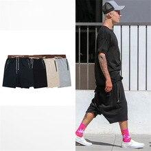 Уличная хип-хоп танцевальная одежда этап для мужчин черный/серый/хаки/синий короткие мужские стретч хлопок пот jogger шорты